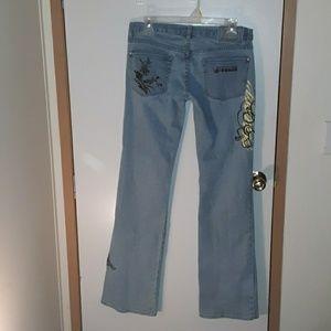 Mari the Fracois Girbaud jeans
